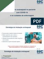 AULA EM PDF intubação pct com COVID e cuidados de enfermagem