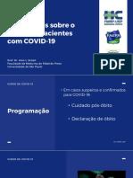 10- ORIENTAÇÕES SOBRE ÓBITO