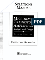 Microwave Transistor Amplifiers Analysis and Design,2e