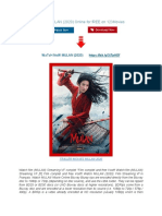 WAtcH MULAN (2020) Online for FREE on 123Movies