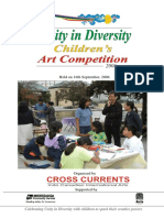 """""""Unity in Diversity"""" - Childrens' Art Competition"""