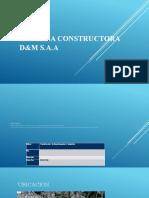 EMPRESA CONSTRUCTORA D&M