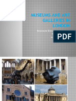 Museums and Art Galleries in London