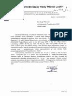 2020.09.04 Urząd Miasta Lublin- Odnosnie Rozpatrzenia Petycji