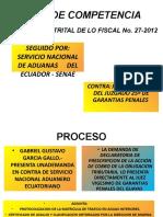DIAPOSITIVA CONFLICTO DE COMPETENCIAS. yunganpptx