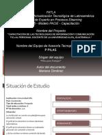 Proyecto de capacitación en Tics Universidad Alfa, Guatemala