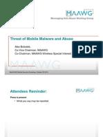 Threat of Mobile Malware