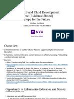 COVID-19 and Child Development