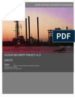 Secured cloud policy DG version