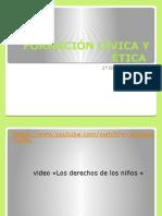 FORMACIÓN CIVICA Y ÉTICA 2° SEC