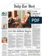 The Daily Tar Heel for January 27, 2011