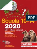 Catalogo Zanichelli 2020