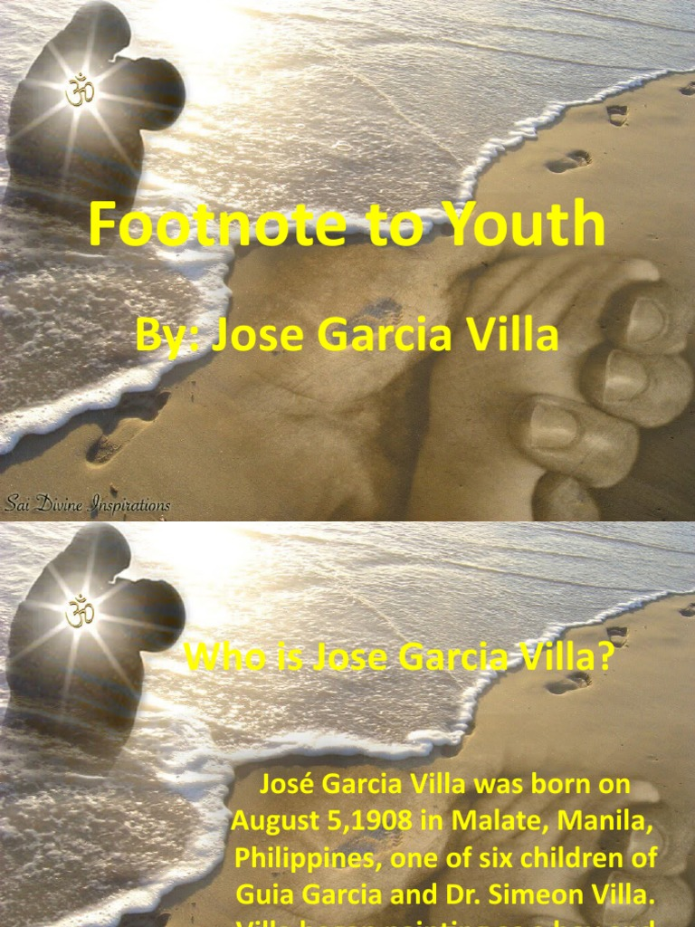 footnote to youth story