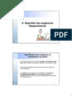 2 UML- Exigences