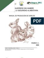 MANUAL PRODUCCION DE CONEJOS