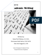 Academic Writing Compilation-the book