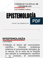 LA EPISTEMOLOGIA 1