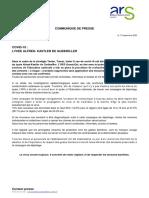 Communiqué de Presse- Lycée Kastler Guebwiller - 17.09.20