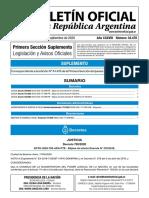 Suplemento BORA 17-9-2020 - Decretos 750 751 y 752