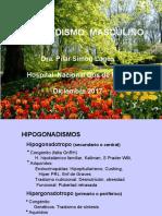 HIPOGONADISMO MASCULINO DIC 2017