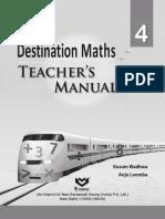 Destination maths teachers manual