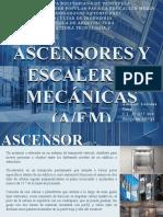 Tecnologia V - Ascensores y escaleras mecanicas AEM