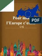 Pour moi l'Europe c'est.pptx