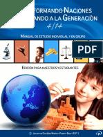 Manual Transformando Naciones, Discipulando Generaciones 4_14