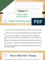 Public Debt Management 2