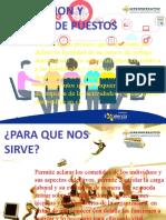 DESCRIPCION Y ANALISIS DE PUESTOS