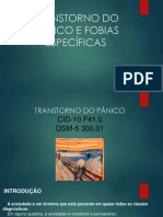 TRANSTORNO DO PÂNICO E FOBIAS ESPECÍFICAS