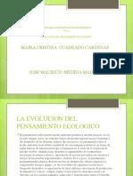 EVO. PENSAMIENTO ECOLOGICO (1)