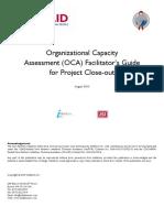 Organizational Capacity Assessment Tool