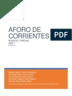 AFORO DE CORRIENTES