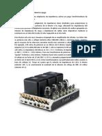 Transformadores de impedancia a juego