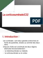 5-La corticosurrénale(CS)
