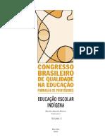 congresso brasileiro de qualidade na educacao_formação de professores_educacao indígena