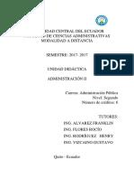 Unidad Didáctica Administración II AP