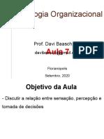Psicologia Org. Adm.-Aula 7-2020-1