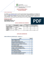 Lista de Espera 2020-2 - Campus Maracanaú (Retificada)