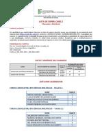 Lista de Espera 2020-2 - Campus Acaraú