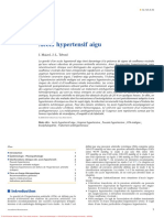 Accès hypertensif aigu