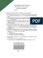 Ejercicios de ELECTROMAGNETISMO I-05-2020