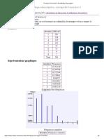 Corrigé de l'exercice 4 de statistique descriptive