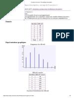 Corrigé de l'exercice 1 de statistique descriptive