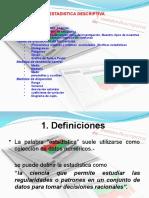 2. 1CLASES DE ESTADISTICA 1.