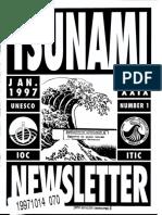 TSUNAMI NEWSLETTER
