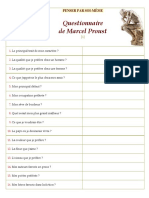QuestionnaireMarcelProust2ºESO