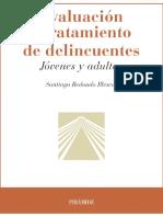 Evaluación y tratamiento de delincuentes. Jóvenes y adultos. Redondo (). Libro..pdf