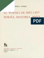 Bandera Gomez Cesareo - El Poema de Mio Cid - Poesia Historia Mito
